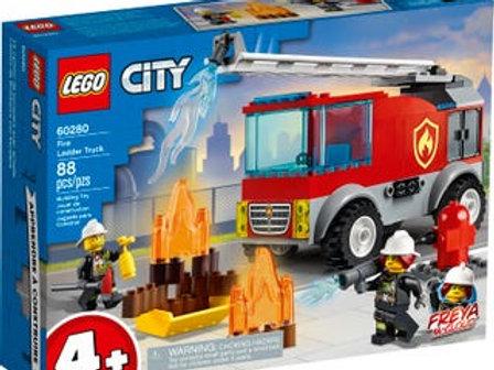 LEGO City - Le camion des pompiers avec échelle