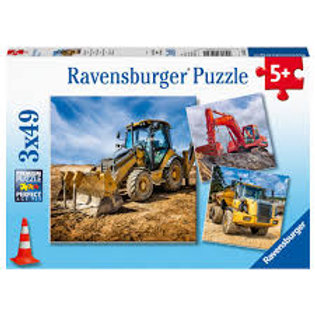 Ravensburger- 3x49pcs