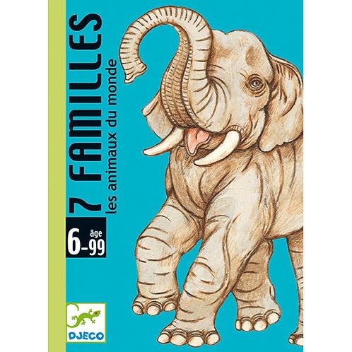 Djeco - 7 familles : Les animaux du monde