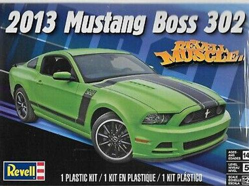 Revell - 1/25 2013 Mustang Boss