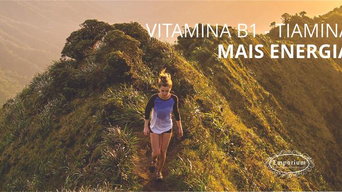 Vitamina B1 - Tiamina - Mais Energia