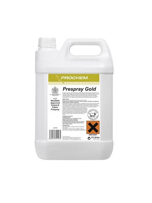 Prespray Gold 5L - Esipuhdistusaine