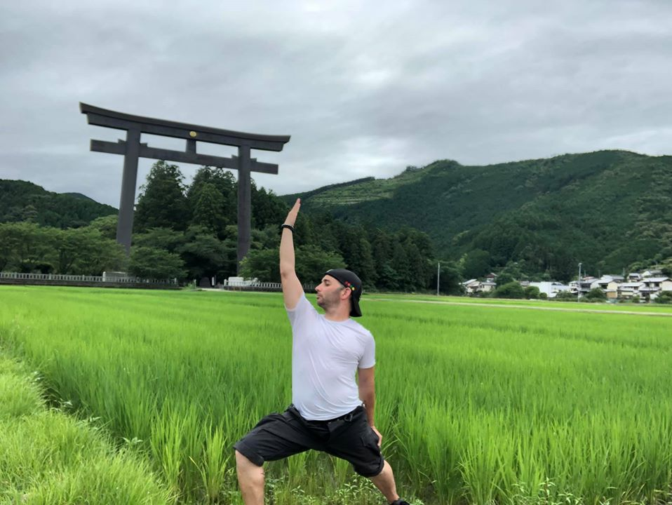 Yoga along the Kumano Kodo