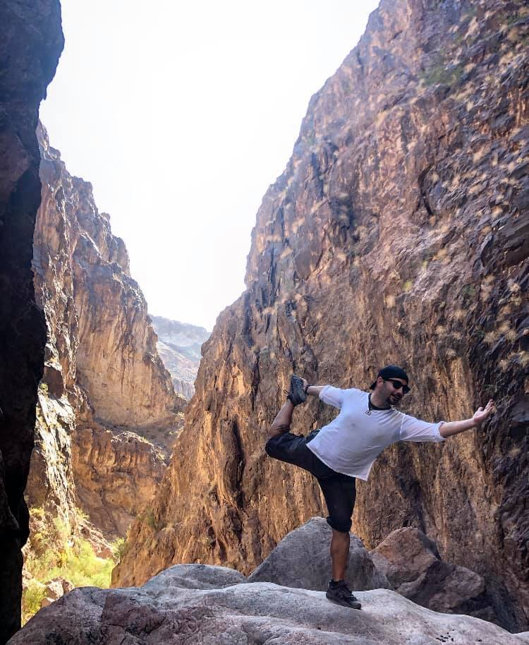 Dancing in Gold Strike Canyon