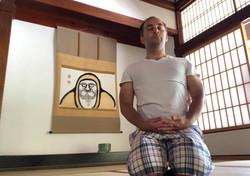Meditation in Kyoto