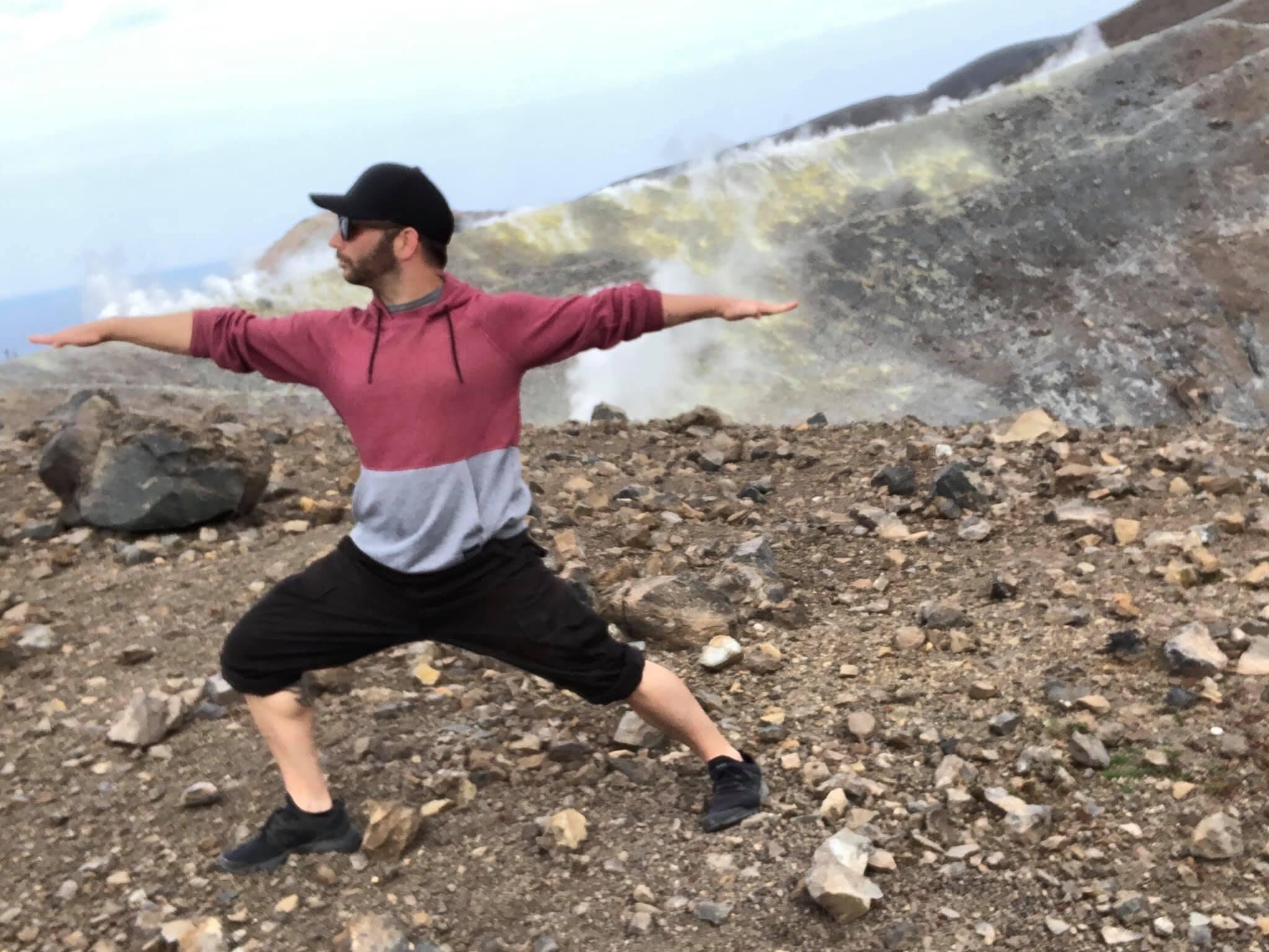 Yoga on Vulcano