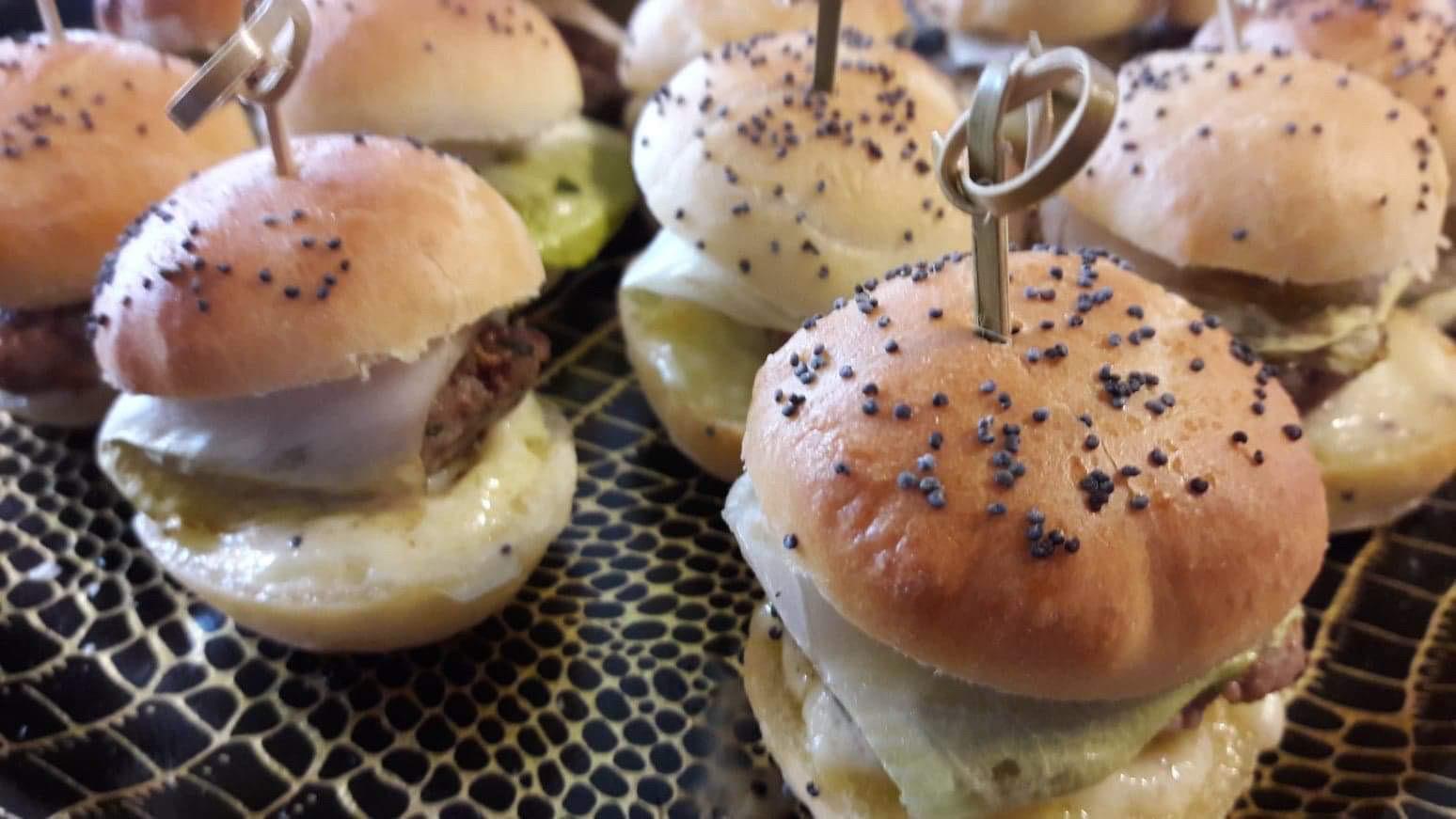 Mini burgers à l'Orval