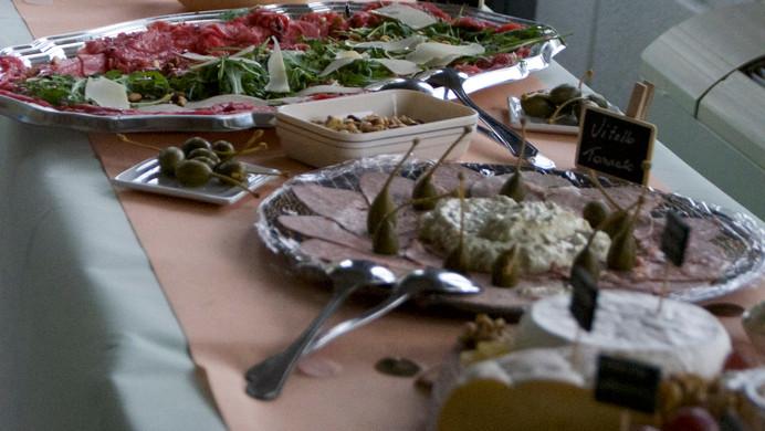 buffet de charcuteries