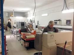 L'atelier de façonnage