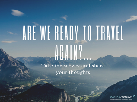 Are we ready to travel again?....