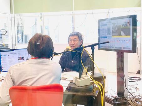 地元FM局に生出演(2月10日)