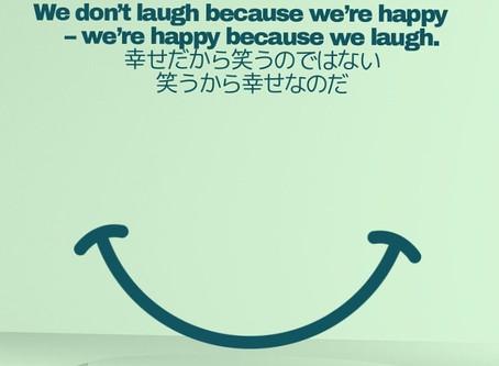 笑うから幸せ