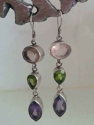 CUSTOM GEMSTONE EARRINGS