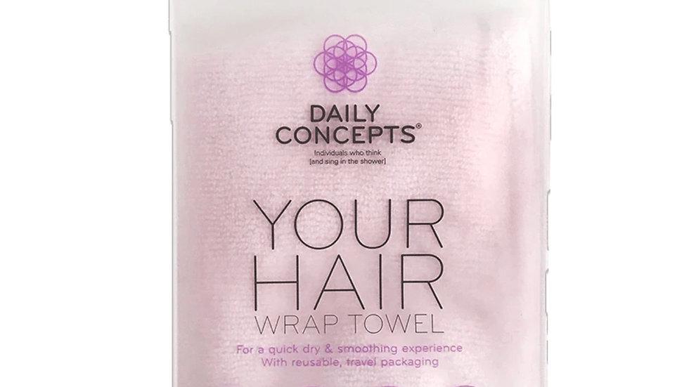 Your hair wrap towel