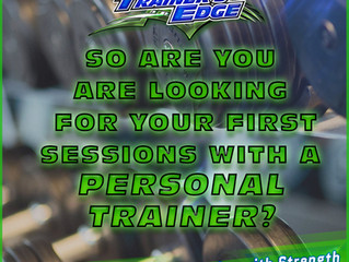 So Are you are looking for your first sessions with a Personal Trainer?