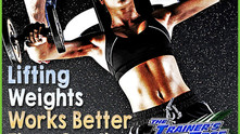 3 Good Reasons Why Lifting Weights Works Better Than Cardio for Fat Loss - Particularly For Women!