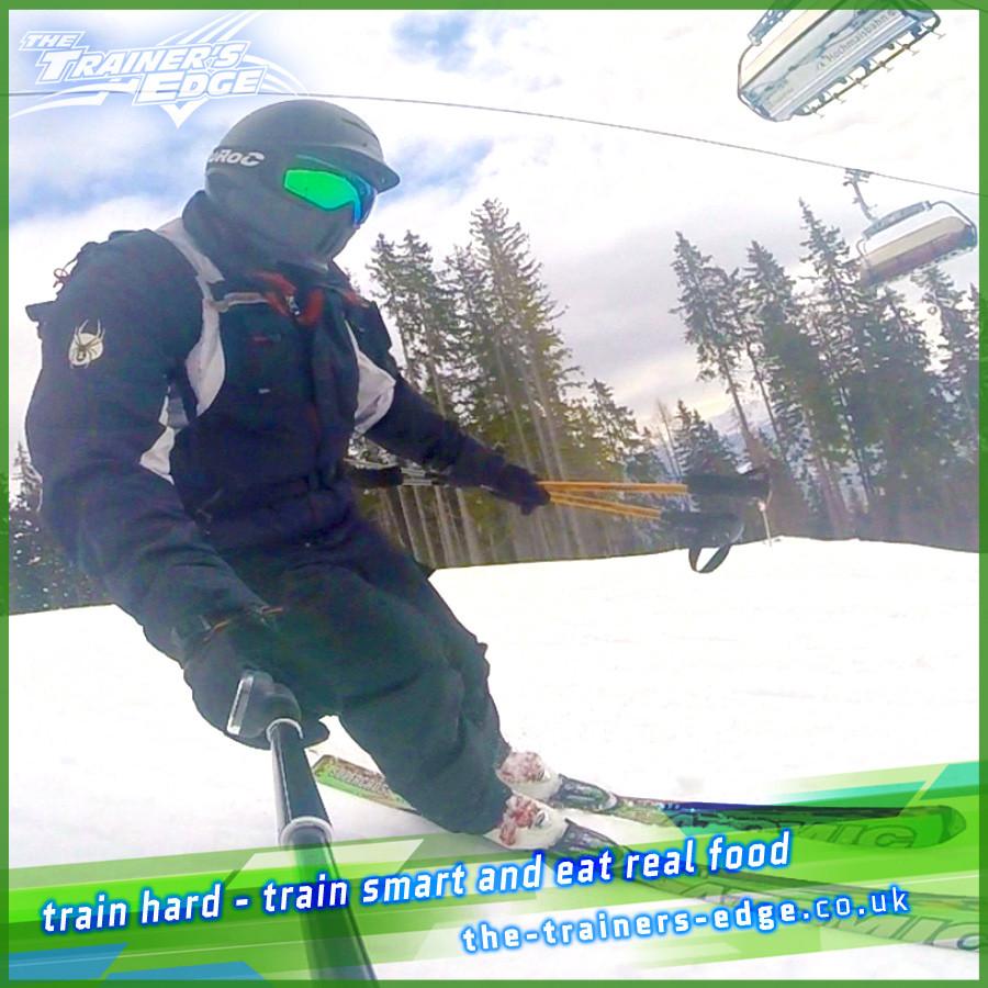Jayce Skiing