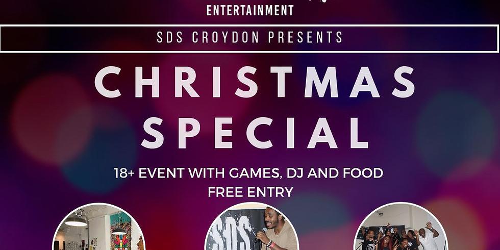 SDS Croydon Open Mic Night: CHRISTMAS SPECIAL