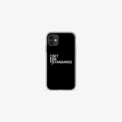 'I Set Da Standards' iPhone Cases in Black