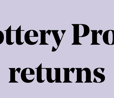 Lottery Project Grants Returning!!!