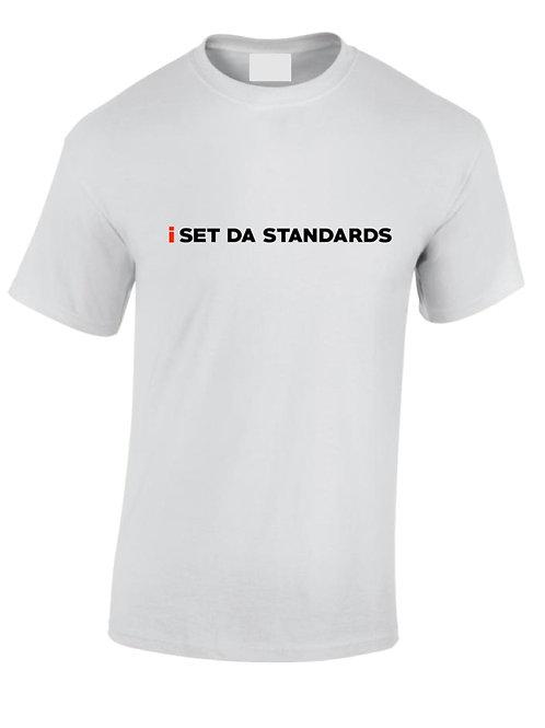I Set Da Standards - Male T-shirt