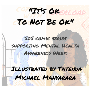 """It's Ok To Not Be Ok"" Comic Series  Illustrated by Tatenda Michael Manyarara"