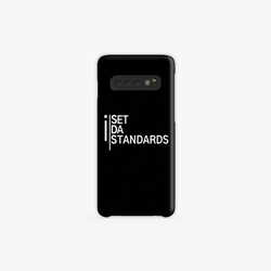 'I Set Da Standards' Samsung Galaxy Phone Cases in Black