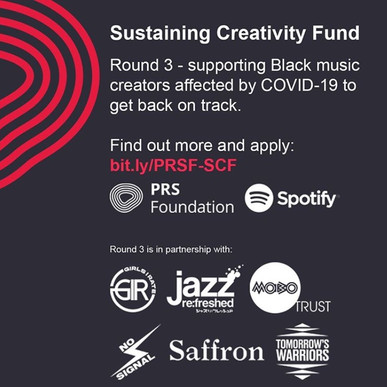 Round 3 Of PRS Foundation's Sustaining Creativity Fund To Support Black Music Creators