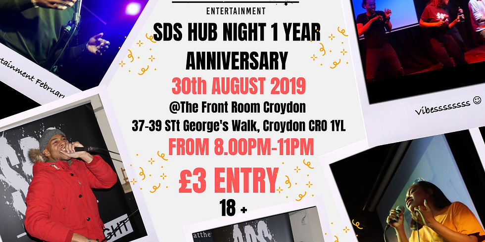 SDS Entertainment 1 Year Anniversary