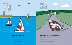 Y is for Yachts, Zz is for zZZEEEOOowm!