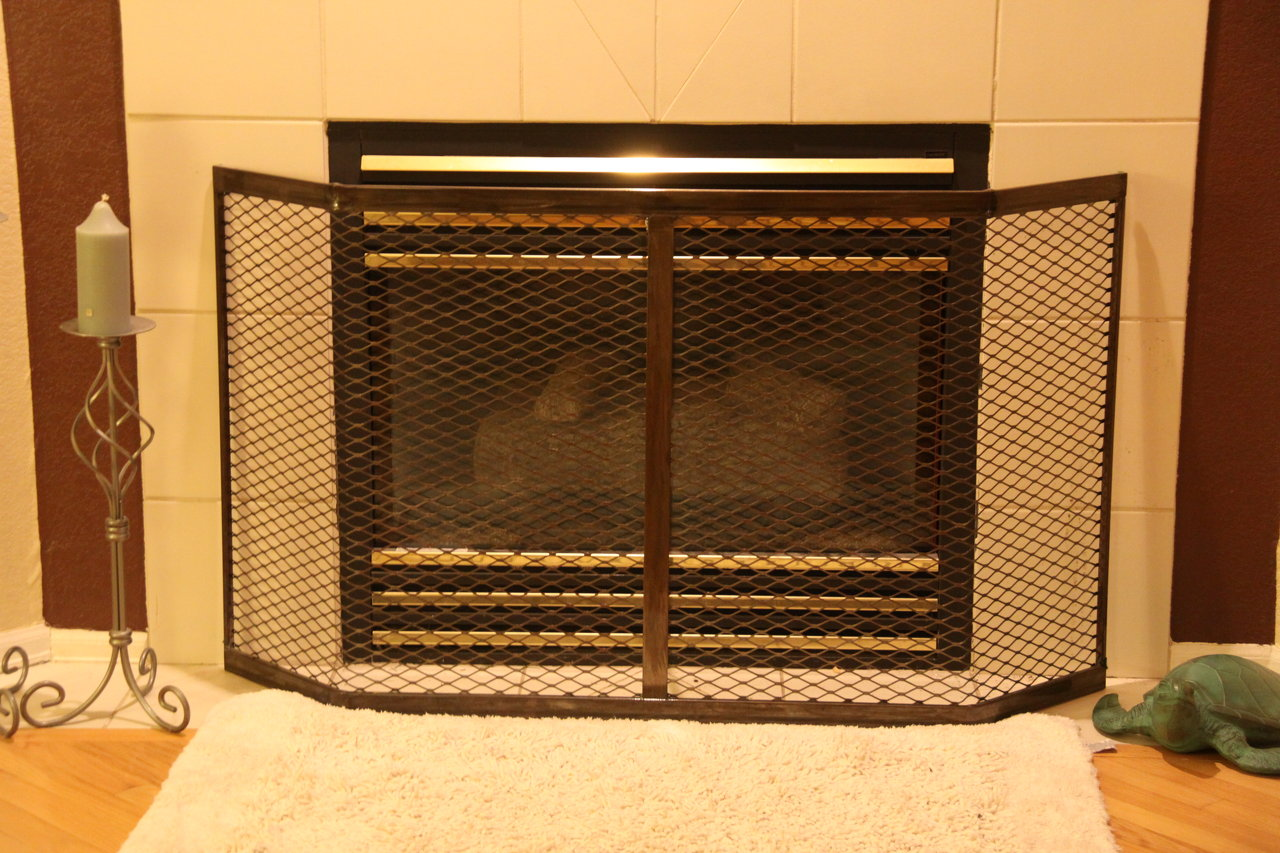 Steel Fireplace Guard