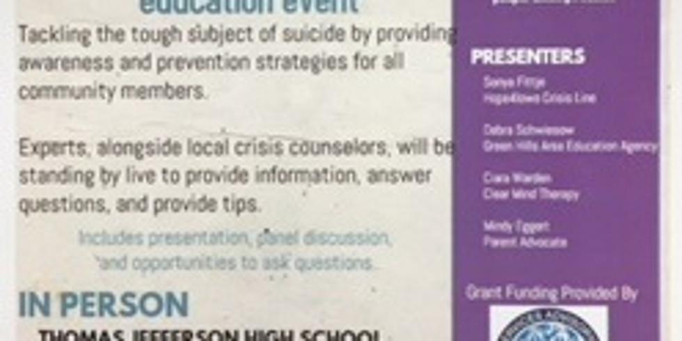 Community Suicide Prevention