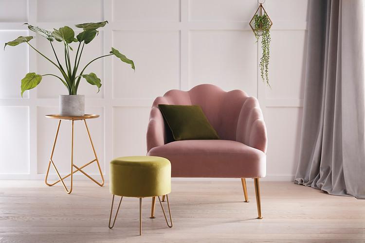 Alvar Chair & Footstool.