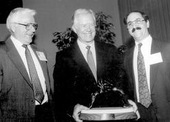 Pres. Jimmy Carter receives PSR Peace Award