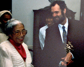 Rosa Parks with Tim Holmes