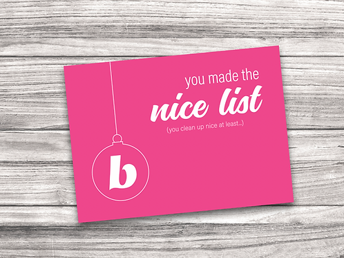 Beautycounter Christmas Notecard 4
