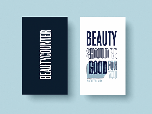 Beauty Should Be Good For You Card