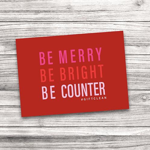 Beautycounter Christmas Notecard 10