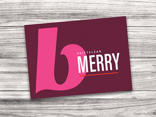 Beautycounter Christmas Notecard 6