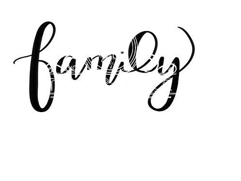 Family digital file bundle