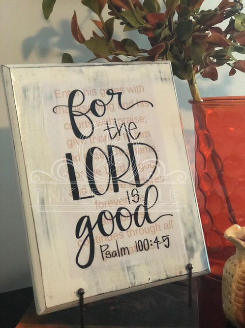 Psalm 100: 4-5 Bible Verse