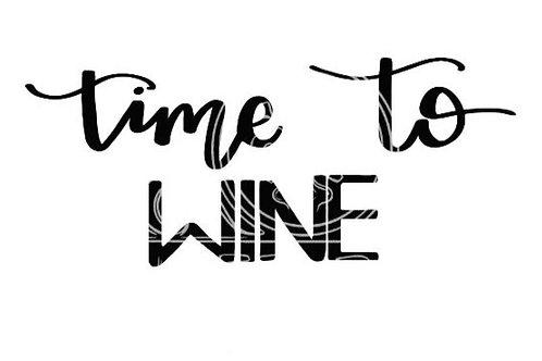 Time to Wine digital file bundle