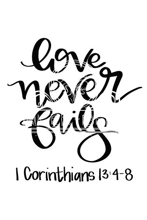 1 Corinthians Digital File bundle