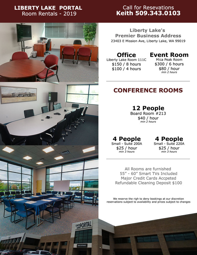 DAILY MEETING ROOM & DAILY OFFICE RATES - NOW AVAILABLE!