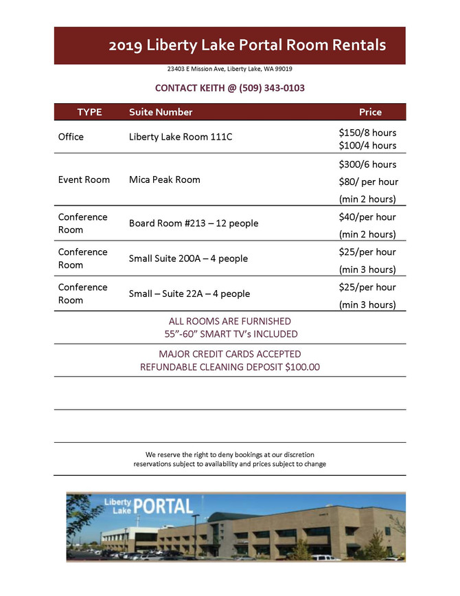 DAILY ROOM RENTAL - NOW AVAILABLE