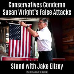 Conservatives Condemn Susan Wright's False Attacks