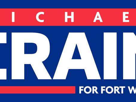Michael D. Crain announces for Fort Worth City Council