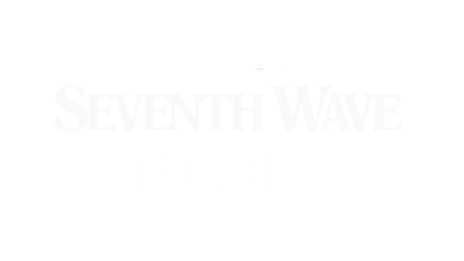 Seventh Wave Records Logo (White) - Font
