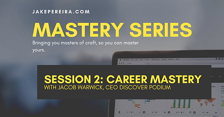 Jake Pereira: Career Mastery