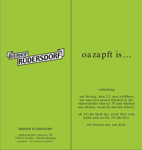 Eröffnung 05/2005